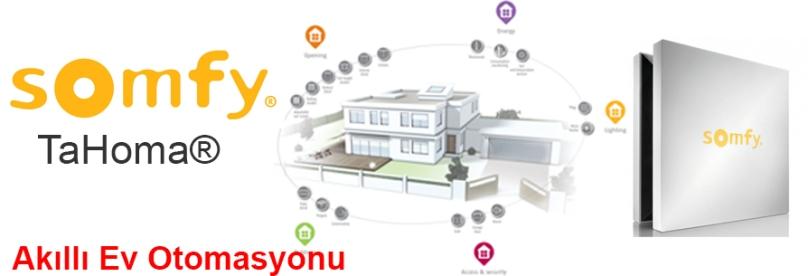Somfy TaHoma Akıllı Ev Otomasyonu